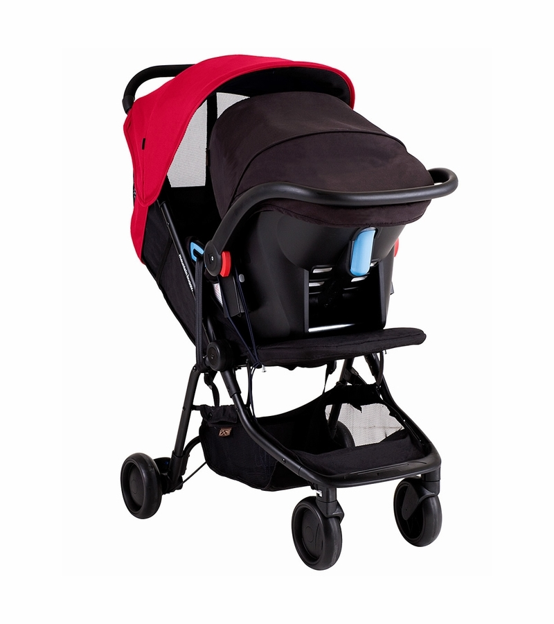 Mountain Buggy Nano & Protect Travel System - Ruby