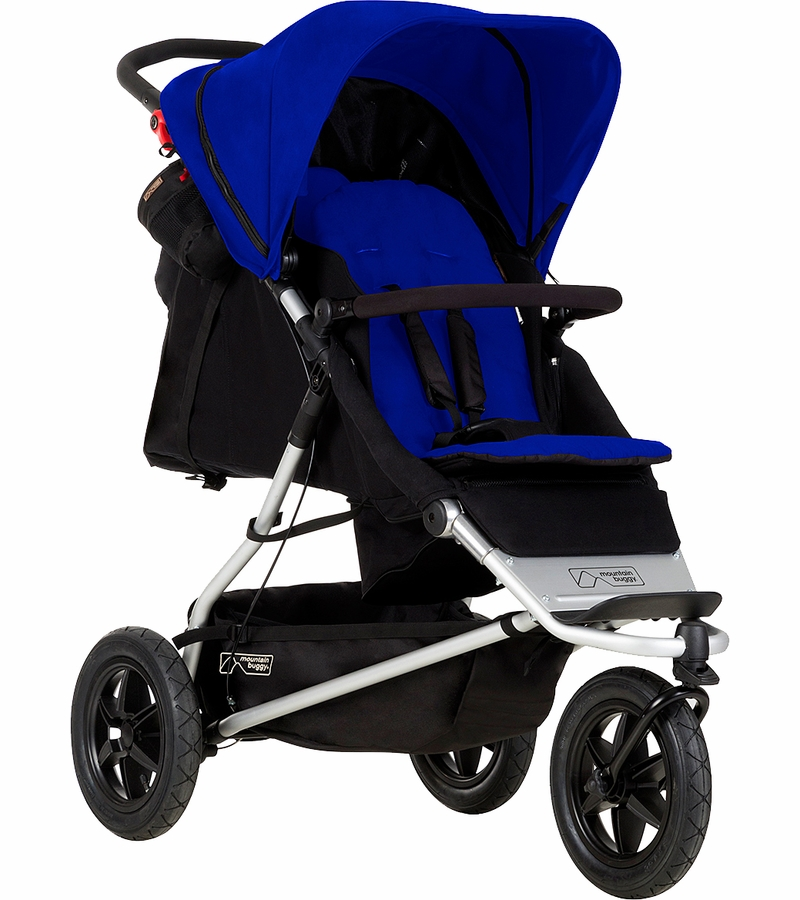 mountain buggy plus one double stroller marine. Black Bedroom Furniture Sets. Home Design Ideas