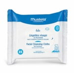 Mustela Facial Cleansing Cloths with Physiobebe 25 ct - 2 Pack