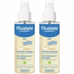 Mustela Massage Oil - 2 Pack