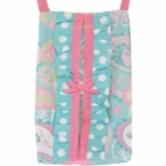 My Baby Sam Pixie Baby Aqua Diaper Stacker