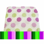 My Baby Sam Sweet Pea Polka Dot Crib Fitted Sheet