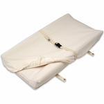 Naturepedic Organic Cotton 2-Sided Contoured Changing Pad Cover - Natural