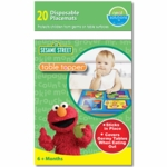Neat Solutions Table Topper 20 Count in Sesame Street Design