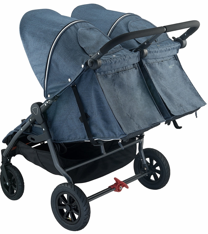 Valco Neo Twin Tailormade Double Stroller Denim Blue
