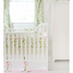New Arrivals Bloom in Apple 3 Piece Crib Bedding Set