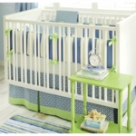 New Arrivals Boardwalk 3 Piece Baby Crib Bedding Set