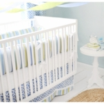 New Arrivals By the Bay 2 Piece Baby Crib Bedding Set