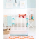 New Arrivals Carnival 4 Piece Crib Bedding Set