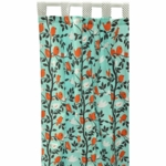 New Arrivals Feather Your Nest in Aqua Window Panels