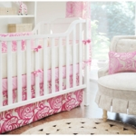 New Arrivals French Quarter 3 Piece Crib Bedding Set