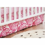 New Arrivals French Quarter Crib Skirt