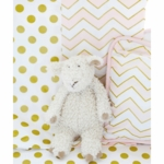New Arrivals Gold Rush in Pink Blanket