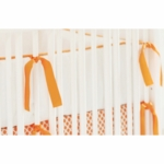 New Arrivals Orange Crush Crib Bumper