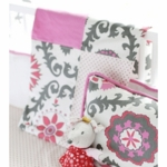 New Arrivals Ragamuffin Pink Blanket