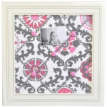 New Arrivals Ragamuffin Pink Memo Board
