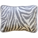 New Arrivals Safari in Gray Throw Pillow - 16 x 16