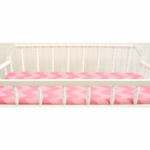 New Arrivals Zig Zag Pink Sugar Changing Pad Cover