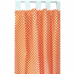 New Arrivals Zig Zag Tangerine Window Panels
