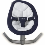 Nuna Leaf Bouncer (Organic Cotton Insert) - Navy