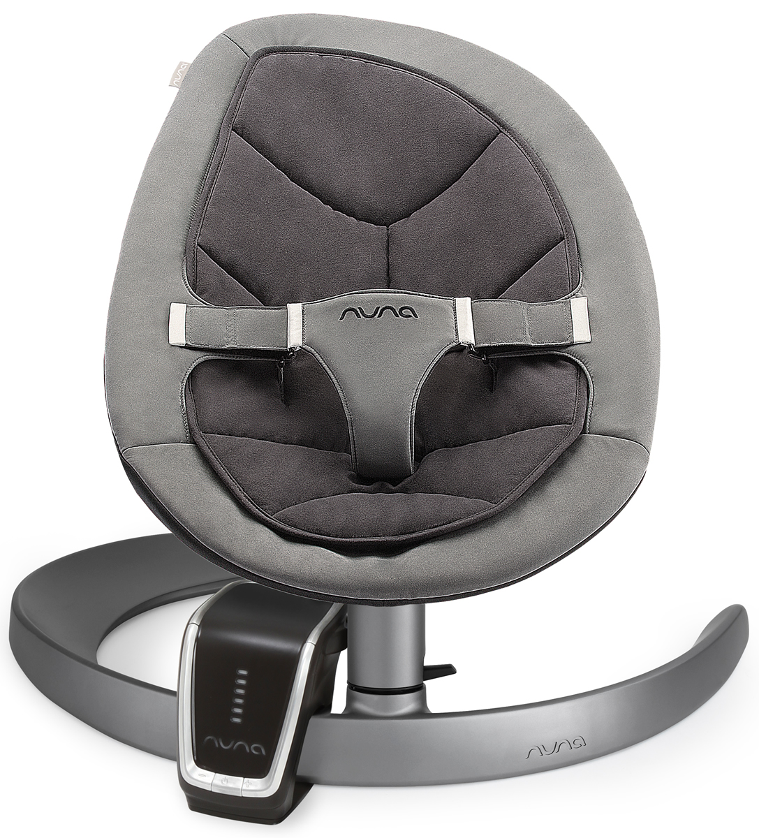 Nuna Leaf Curv Bouncer & Wind Bundle - Cinder
