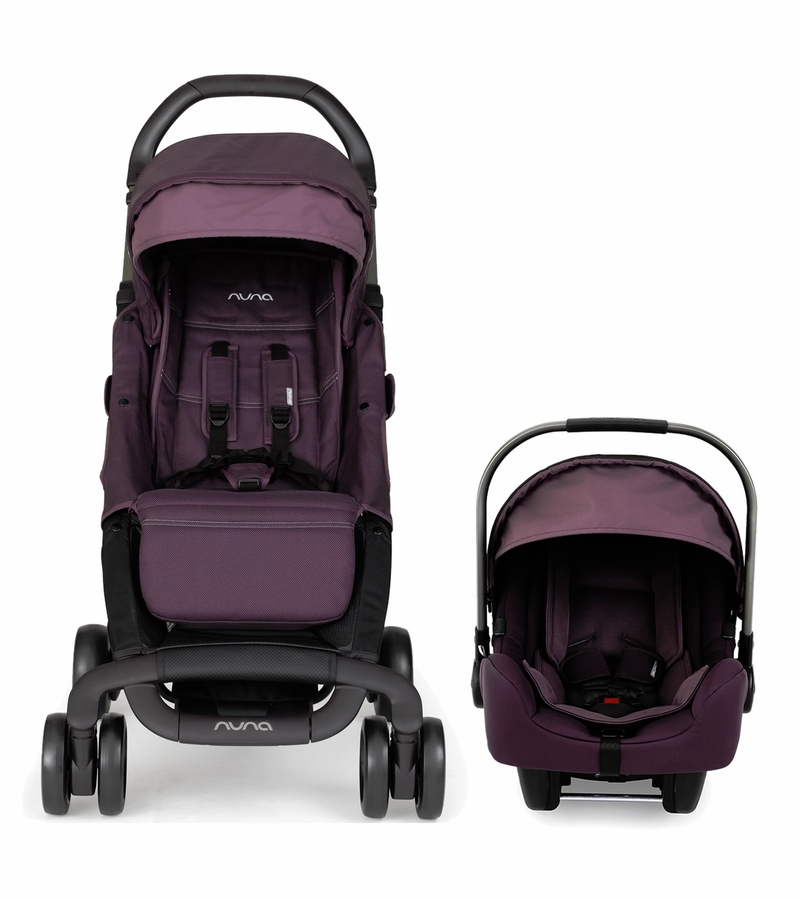 Nuna Pepp Dream Drape Amp Pipa Travel System Blackberry