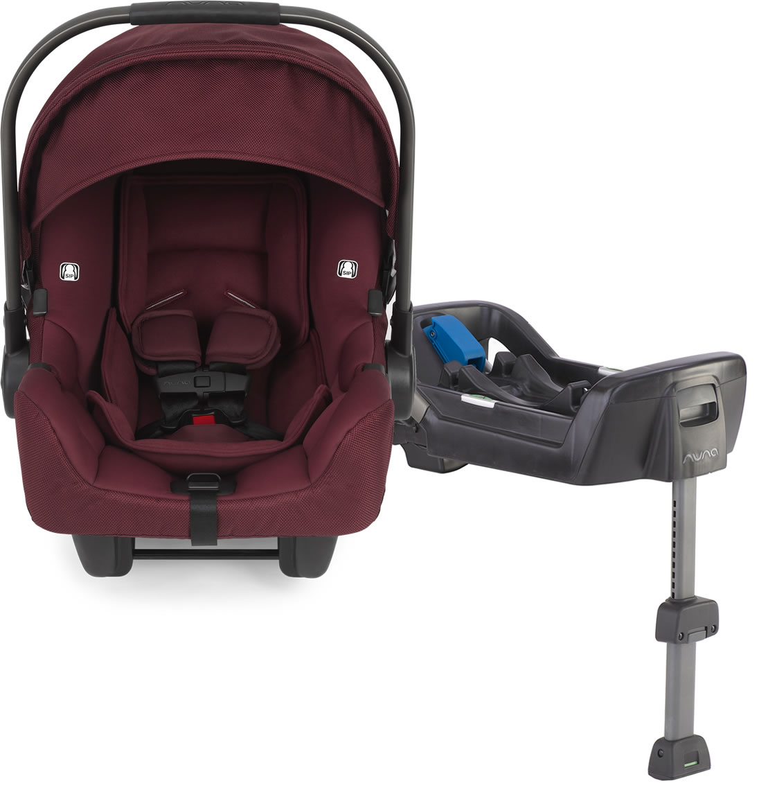 Nuna Pipa Infant Car Seat - Berry