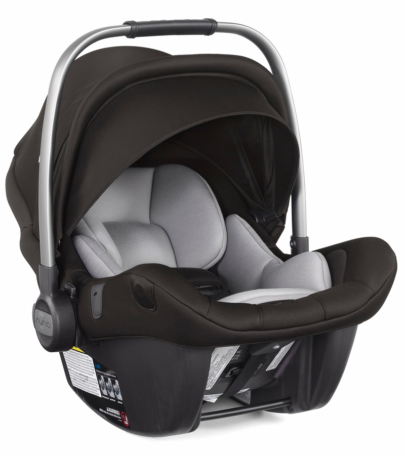 Nuna Pipa Lite LX Infant Car Seat - Caviar