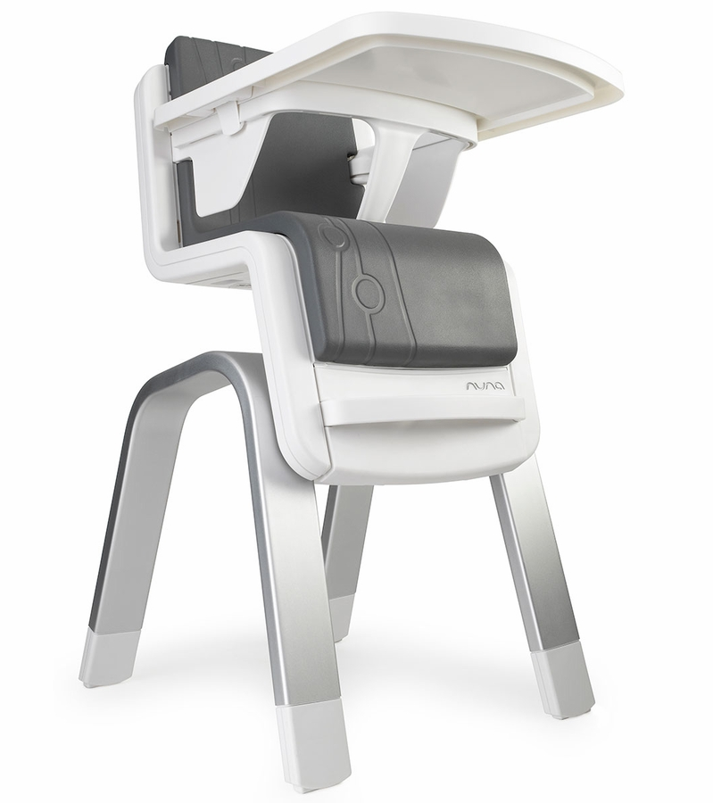 Nuna zaaz high chair carbon for Chaise haute baby trend