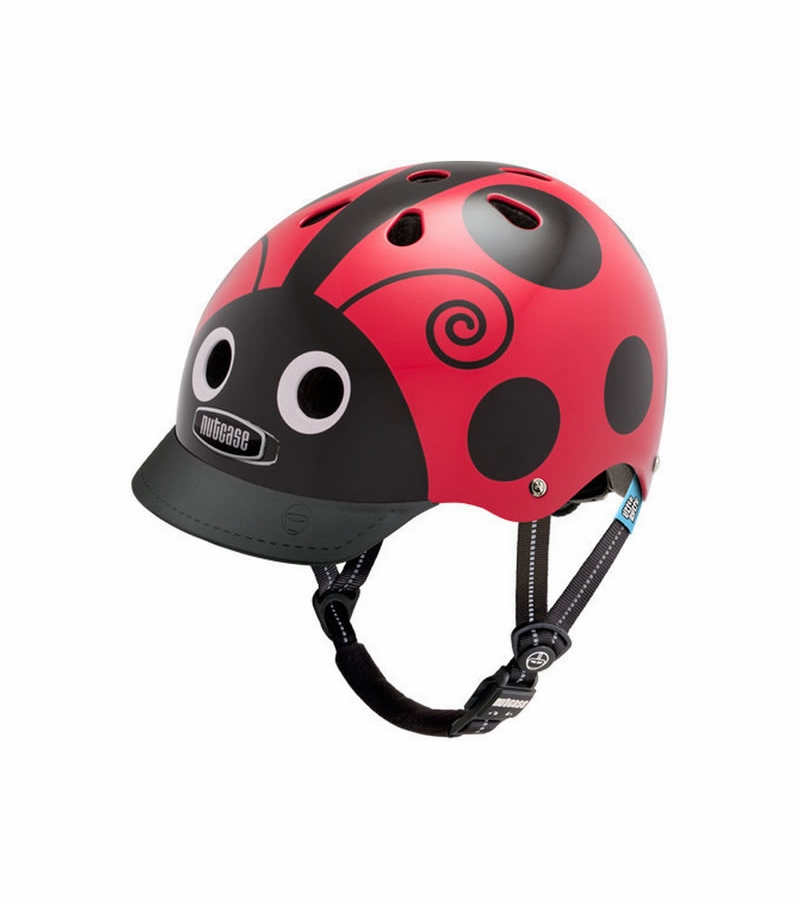nutcase little nutty ladybug g3 helmet. Black Bedroom Furniture Sets. Home Design Ideas