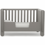 Oeuf Elephant Toddler Bed Conversion Kit in Grey