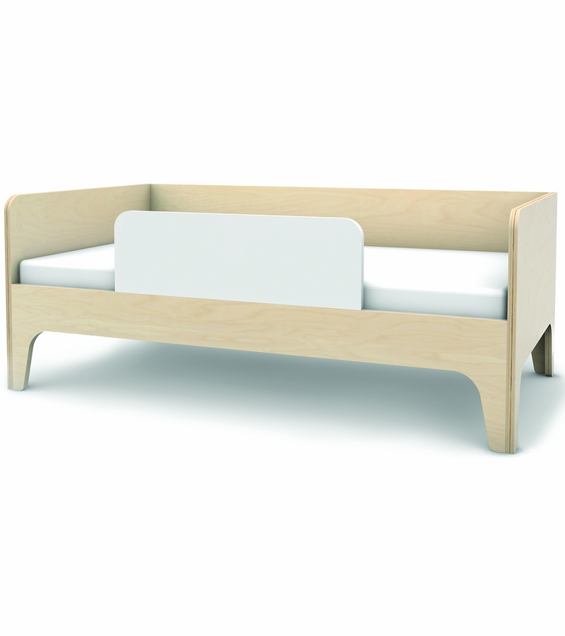 Oeuf Perch Toddler Bed In White Birch