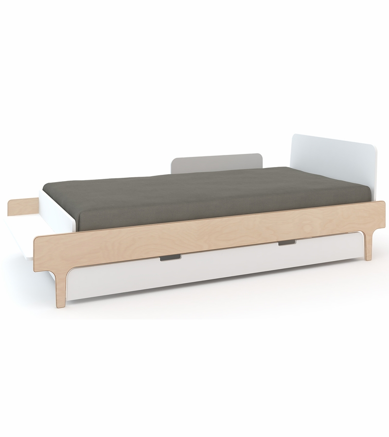 Oeuf River Twin Bed Trundle White