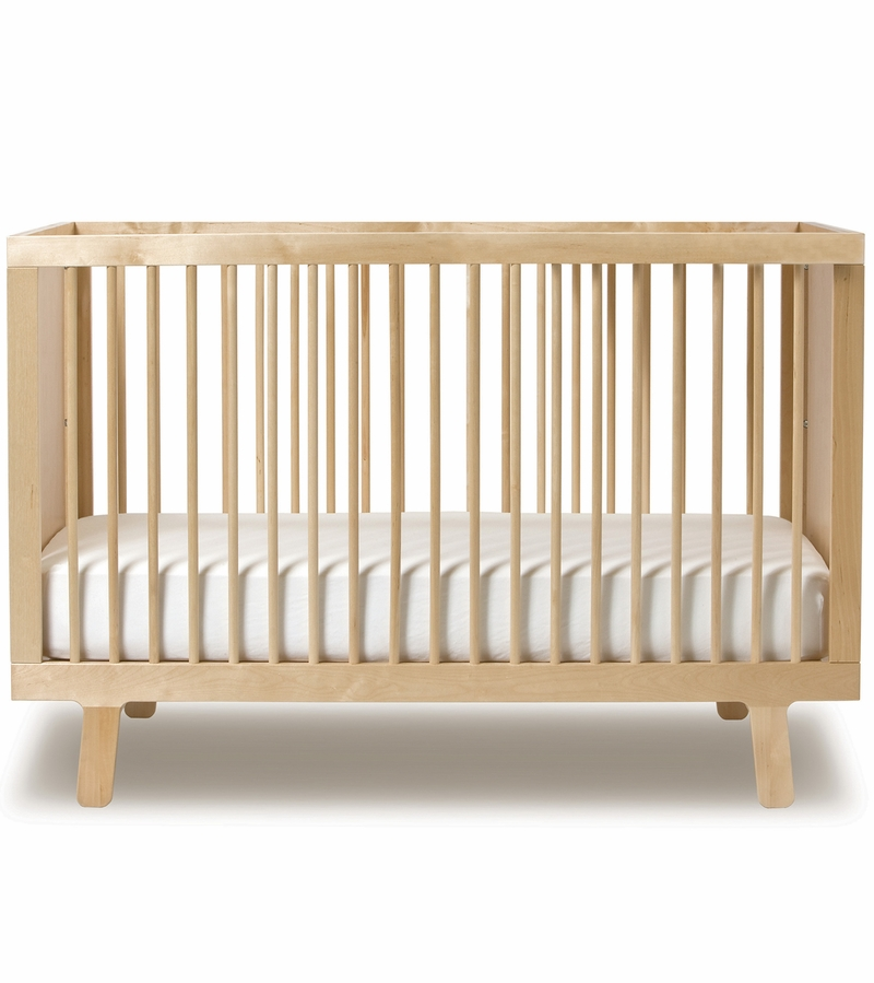sparrow collection crib birch oeuf craigslist safety conversion kit white