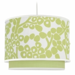 Oilo Modern Berries Double Cylinder Light in Spring Green