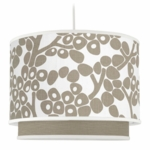 Oilo Modern Berries Double Cylinder Light in Taupe