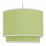 Oilo Solid Double Cylinder Light in Spring Green