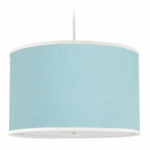 Oilo Solid Large Cylinder Light in Aqua