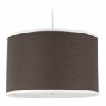 Oilo Solid Large Cylinder Light in Brown