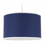 Oilo Solid Large Cylinder Light in Cobalt Blue