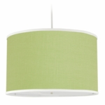 Oilo Solid Large Cylinder Light in Spring Green