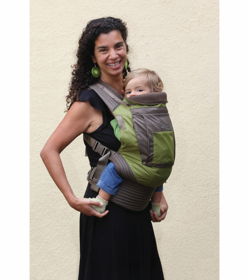 Onya Baby Outback Baby Carrier Jet Black