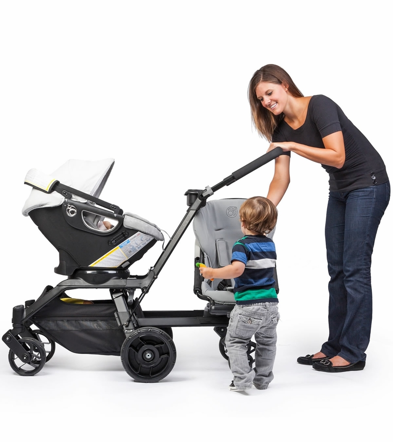 Orbit Baby Helix Plus Double Stroller Upgrade Kit Black