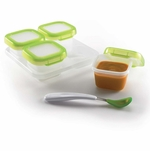 OXO Tot Baby Blocks Freezer Storage Containers 4-Ounce Set
