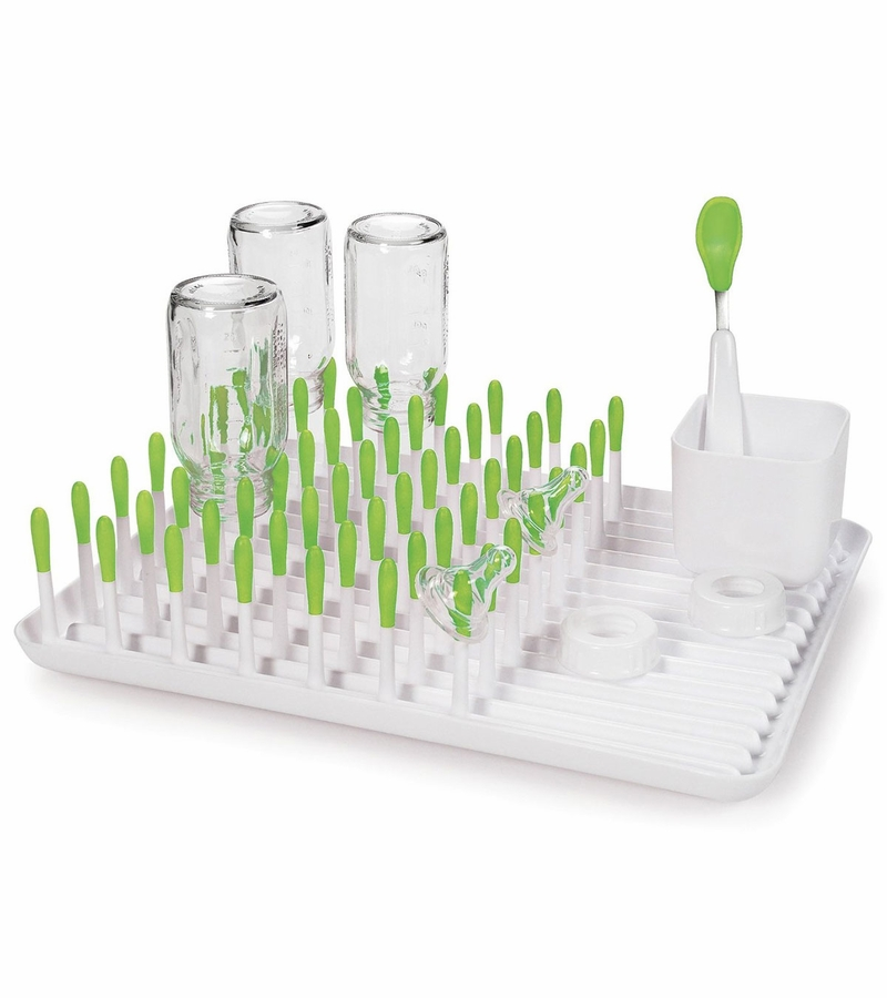 Oxo Tot Bottle Drying Rack Green