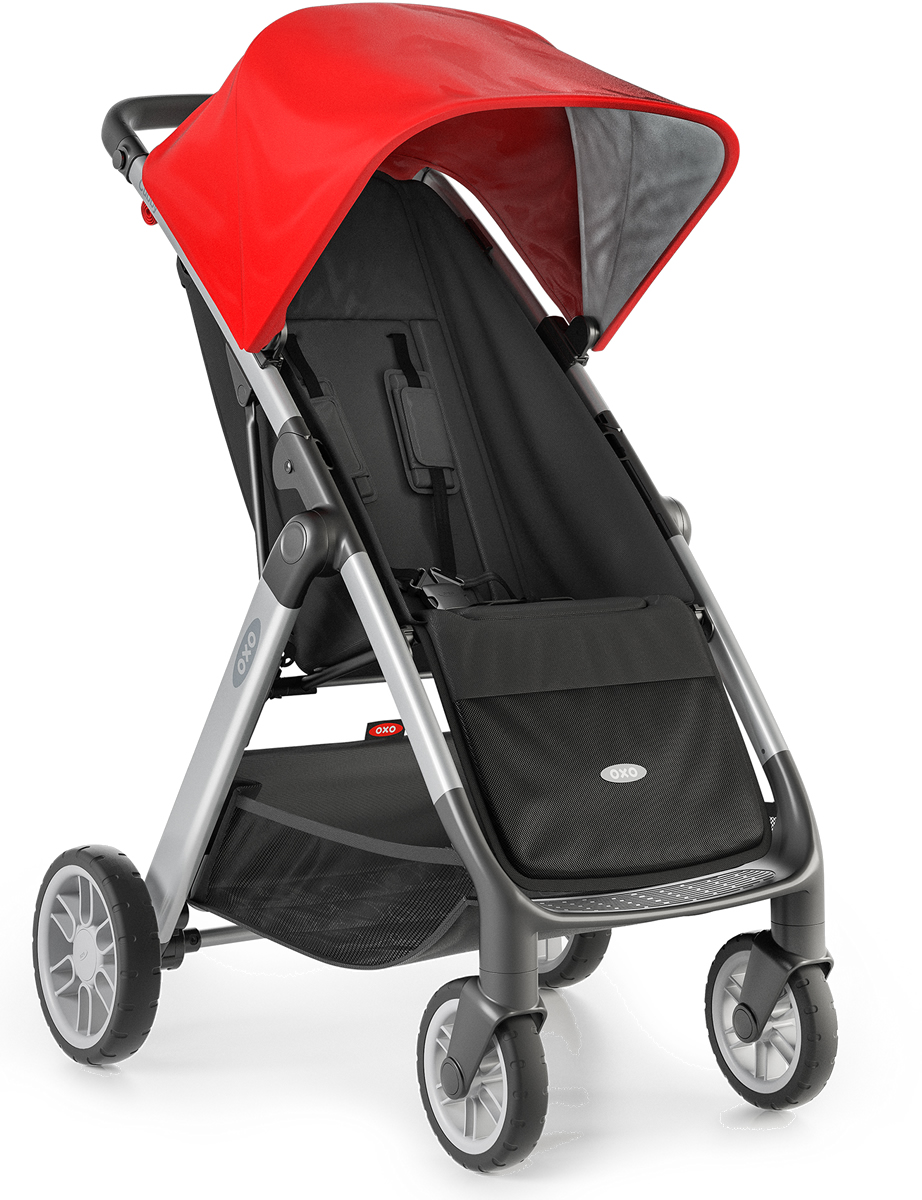 Oxo Tot Cubby Stroller - Red