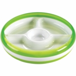 OXO Tot Divided Plate in Green