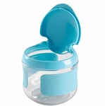 OXO Tot Flip Top Snack Cup in Aqua