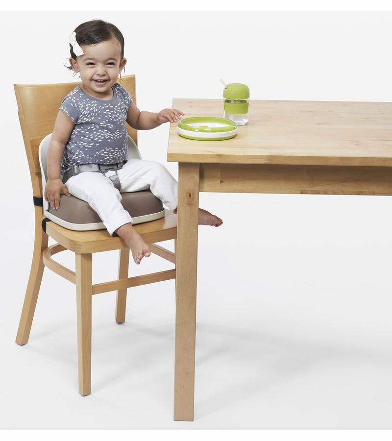 sc 1 st  Albee Baby & OXO Tot Perch Booster Seat with Straps - Taupe