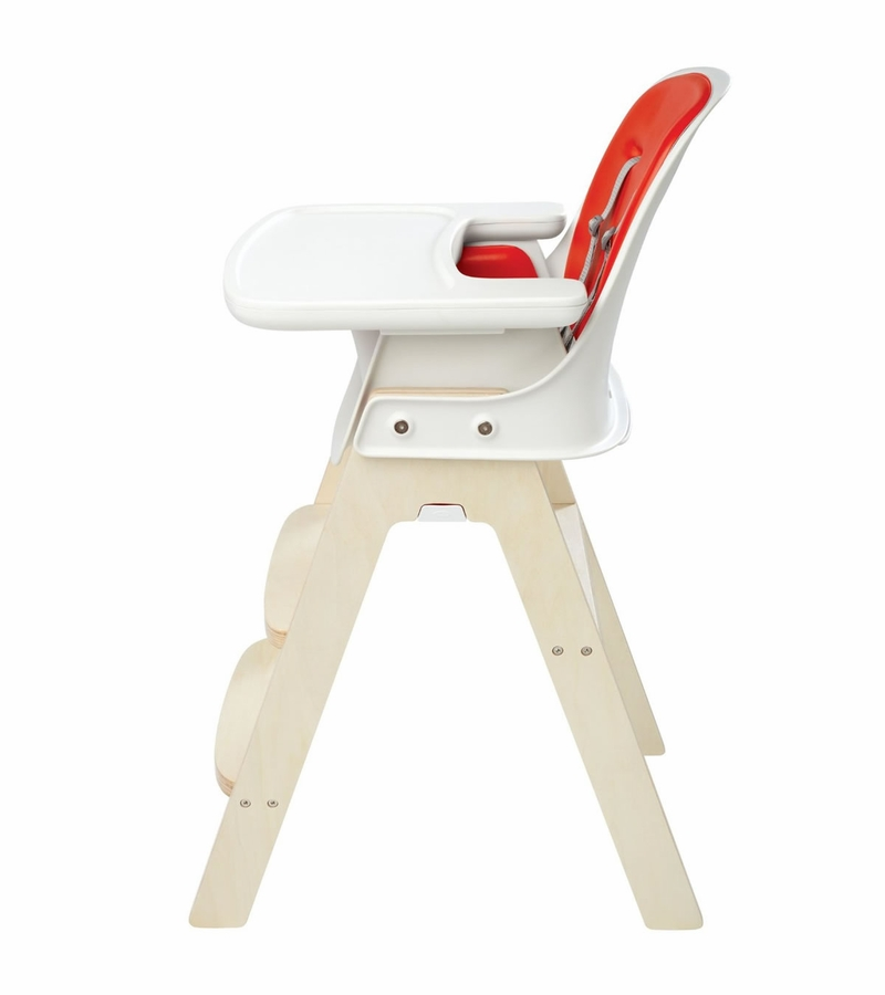Oxo Tot Sprout High Chair Orange Birch